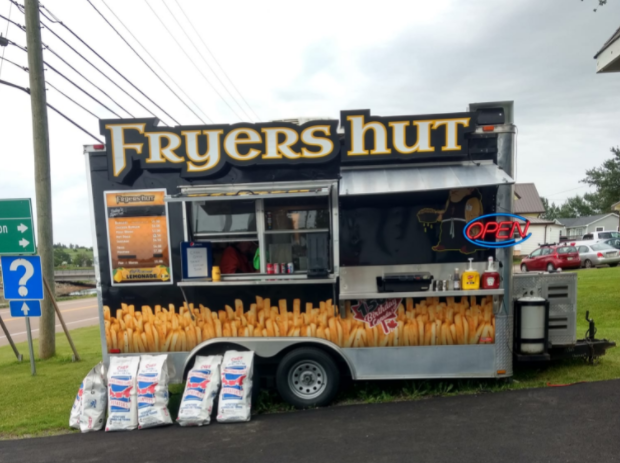 Fryer hut food truck St. Peters Food Truck